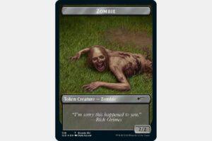The Walking Dead Secret Lair Zombie