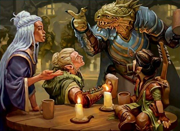 You Meet In A Tavern - Zoltan Boros